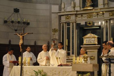 Solemne Eucarístia de Acción de Gracias Ordenación Sacerdotal P. Roger Mendoza
