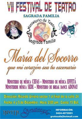 VII Festival De Teatro Sagrada Familia